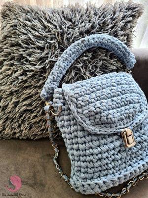 Crossbody crochet bag(#2203)-gallery-0