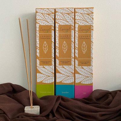 Esscent Incense Sticks ( lemongrass Jasmine and lily)(#2208)-gallery-0