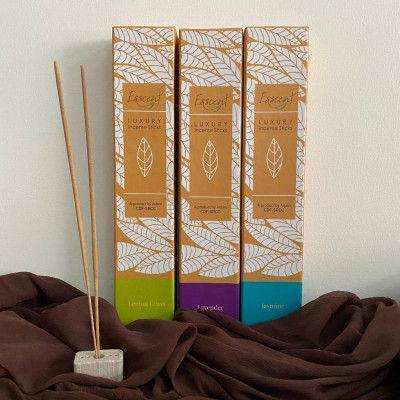 Esscent Incense Sticks ( lemongrass Lavender and Jasmine)(#2209)-gallery-0