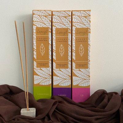 Esscent Incense Sticks ( lemongrass lavender and lily)(#2210)-gallery-0