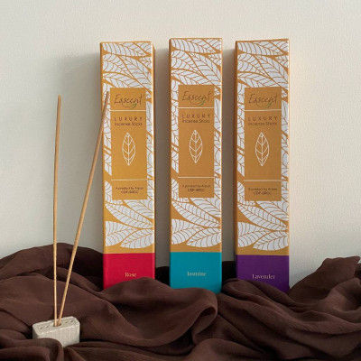 Esscent Incense Sticks( Rose Jasmine and Lavender)(#2249)-gallery-0
