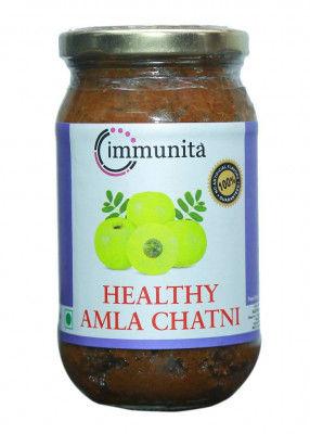 Immunita Healthy Amla Chatni 350gm Homemade Quality(#2270)-gallery-0