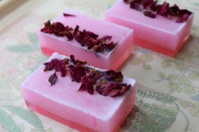 Rosette Coconut Milk Soap(#2281)-gallery-0