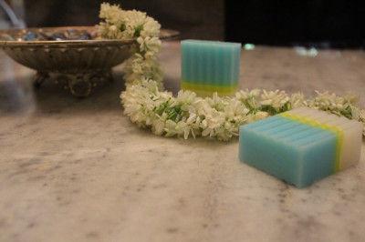 Jasmine Coconut Milk Soap(#2282)-gallery-0