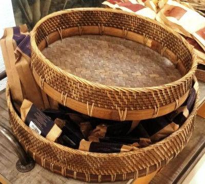 Cane Bamboo Designer Tray S1(#2287)-gallery-0