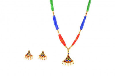 Gagori - Traditional Assamese Jewellery Set for Special Occasions(#229)-gallery-0