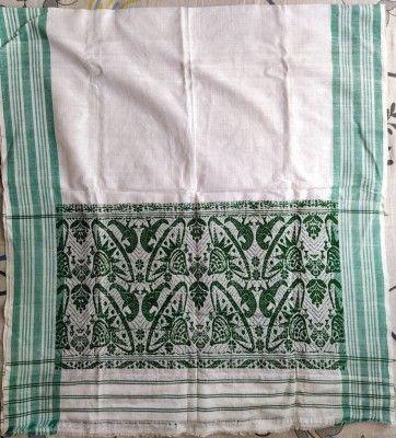 Assamese Green Gamusa Handmade(#2400)-gallery-0