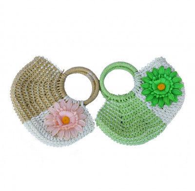 Jute Weaved Designer Handbags(#243)-gallery-0