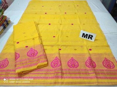 Assamese Mekhela Chadar Nuni Cotton MN29 Style 12(#2433)-gallery-0