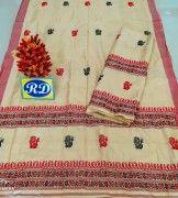 Assamese Mekhela Chadar Mix toss Riha Jura Style 16(#2444) - Getkraft.com