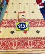 Assamese Mekhela Chadar Mix toss Riha Jura Style 18(#2446) - Getkraft.com