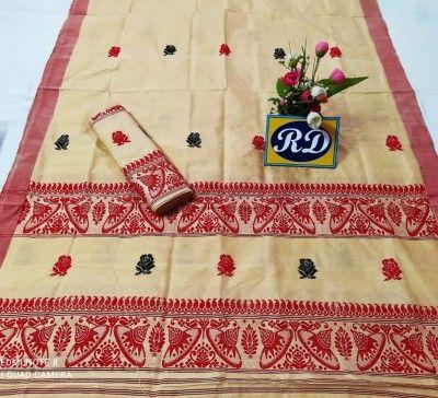 Assamese Mekhela Chadar Mix toss Riha Jura Style 19(#2447)-gallery-0