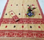 Assamese Mekhela Chadar Mix toss Riha Jura Style 19(#2447) - Getkraft.com