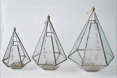 Stainless Steel Lantern(#2448)-gallery-0
