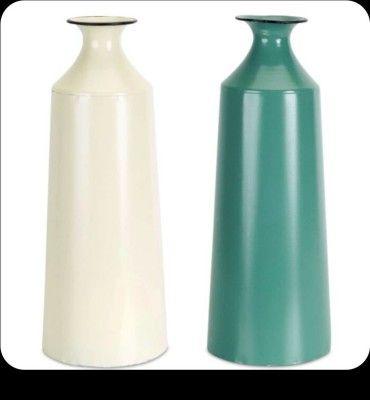 Metallic Decor Vase(#2473)-gallery-0