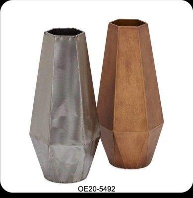 Metallic Decor Vase(#2477)-gallery-0