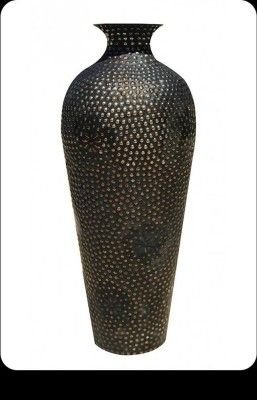 Metallic Decor Vase(#2487)-gallery-0