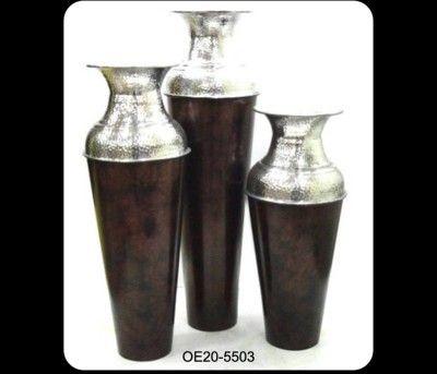 Metallic Decor Vase(#2489)-gallery-0