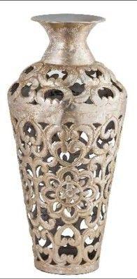 Metallic Decor Vase(#2496)-gallery-0