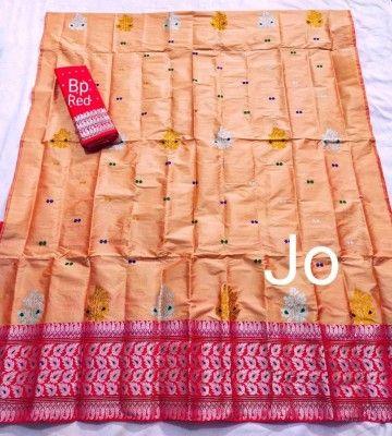 Mix Paat Assamese Mekhela Chador Style Mj 1(#2545)-gallery-0