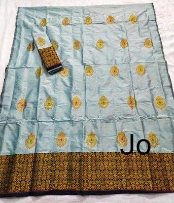 Mix Paat Assamese Mekhela Chador Style Mj 2(#2546)-gallery-0