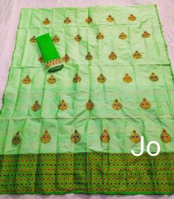 Mix Paat Assamese Mekhela Chador Style Mj 4(#2548)-gallery-0