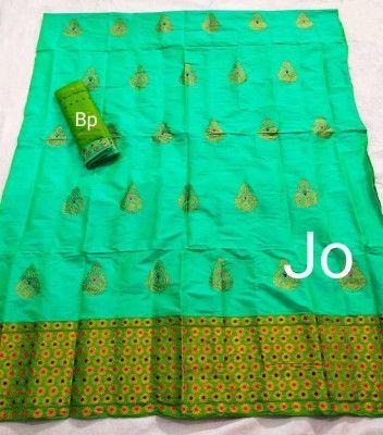 Mix Paat Assamese Mekhela Chador Style Mj 5(#2549)-gallery-0
