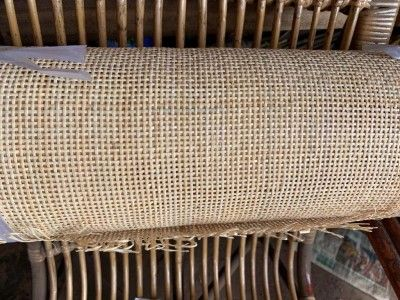 Open weave rattan square webbing(#2555)-gallery-0