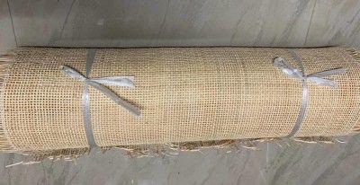 Open weave rattan square webbing 3ft(#2556)-gallery-0