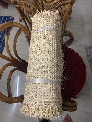 Pure Open Weave Rattan Webbing Roll(#2557)-gallery-0
