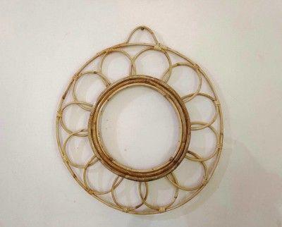 Cane Mirror Frame Design 2(#2561)-gallery-0