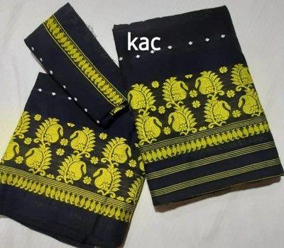 Staple Cotton Assamese Mekhela Chador Style PB4(#2571)-gallery-0