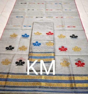 AC Cotton Assamese Mekhela Chador Style ASC 1(#2583)-gallery-0