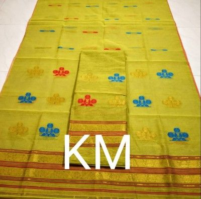 AC Cotton Assamese Mekhela Chador Style ASC 3(#2585)-gallery-0