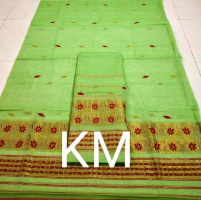 AC Cotton Assamese Mekhela Chador Style ASC 6(#2588)-gallery-0