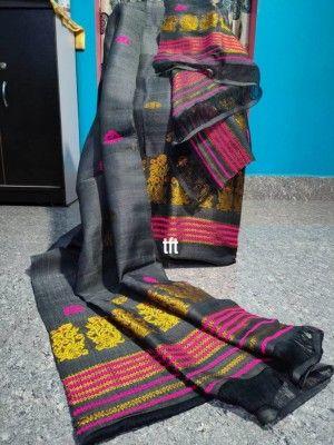 Nuni Cotton Assamese Mekhela Chador Style TC 1(#2593)-gallery-0