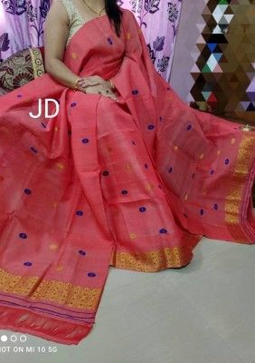 Pure Nuni Assamese Mekhela Chador BJR 11(#2607)-gallery-0