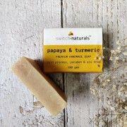 PAPAYA TURMERIC - PREMIUM HANDMADE SOAP(#2629) - Getkraft.com