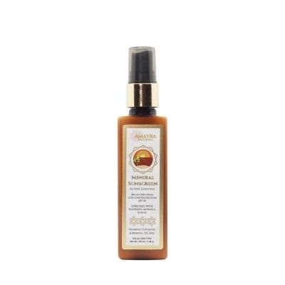 Amayra Naturals Ban The Tan- Mineral Sunscreen Active Lifestyle Beaches -SPF 50- 100ml(#2645)-gallery-0