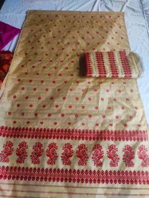 Assamese Mekhela Chador Pure Toss D1(#2650)-gallery-0
