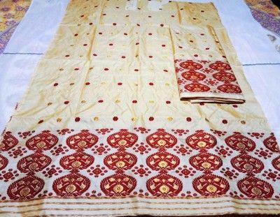 Assamese Mekhela Chador Pure Toss D7(#2656)-gallery-0