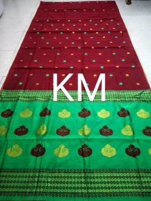 Assamese Staple cotton saree BRJ S3(#2659)-gallery-0