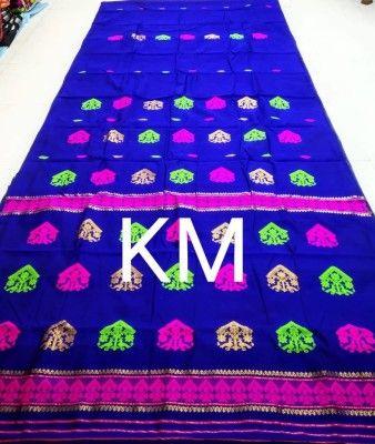 Assamese Staple cotton saree BRJ S6(#2661)-gallery-0