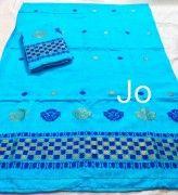 Assamese Chador Mekhela Pure Nuni Handmade D4(#2666) - Getkraft.com