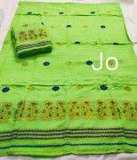 Assamese Chador Mekhela Pure Nuni Handmade D5(#2667) - Getkraft.com