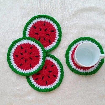 Crochet Coaster(#2700)-gallery-0