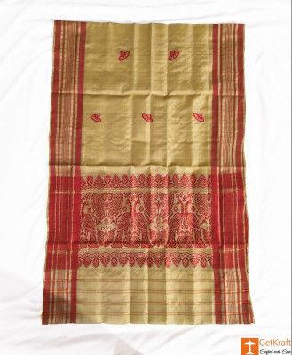 Golden Thread Assamese Gamosa(#331)-gallery-0