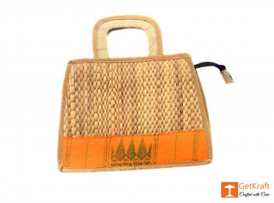 Natural Straw Handbag(#398)-gallery-0