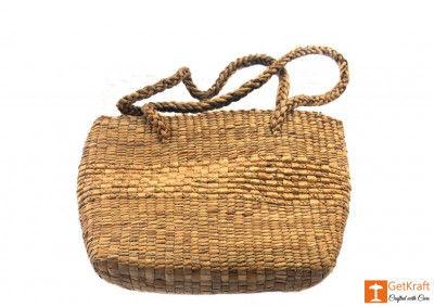 Natural Straw Hobo Bag(#401)-gallery-0