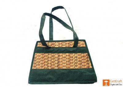 Natural Straw Handbag(#415)-gallery-0